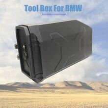 Dla BMW R1200GS R1200 R 1200 GS przygoda LC R1250GS ADV GSA dekoracyjne plastikowe pudełko przybornik 5 litrów skrzynka narzędziowa lewy wspornik boczny