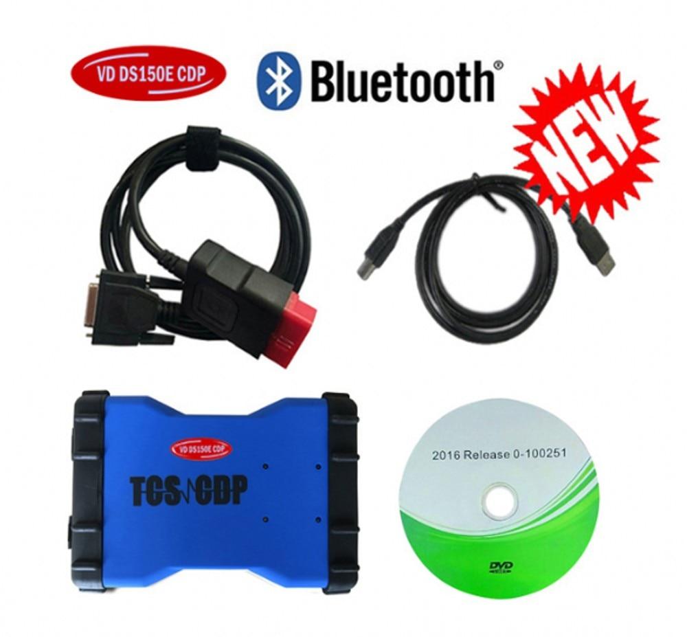 2020 NEUE VCI vd ds150e cdp VD DS150E CDP keygen beste relais mit Bluetooth für DELPHIS autos & lkw obd2 diagnose reparatur werkzeug
