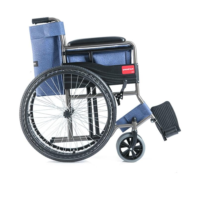 Fish Jump Wheelchair The Elderly Fold Light Small Portable Walk Instead Belt Pedestal Pan Hand Promote Disabled Wheelchair Walk