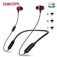Dacom GH02 Gaming Bluetooth Headset Gamer aptX HD Super Bass Wireless Earphone Headphone with Mic RGB LED Light for Mobile Phone