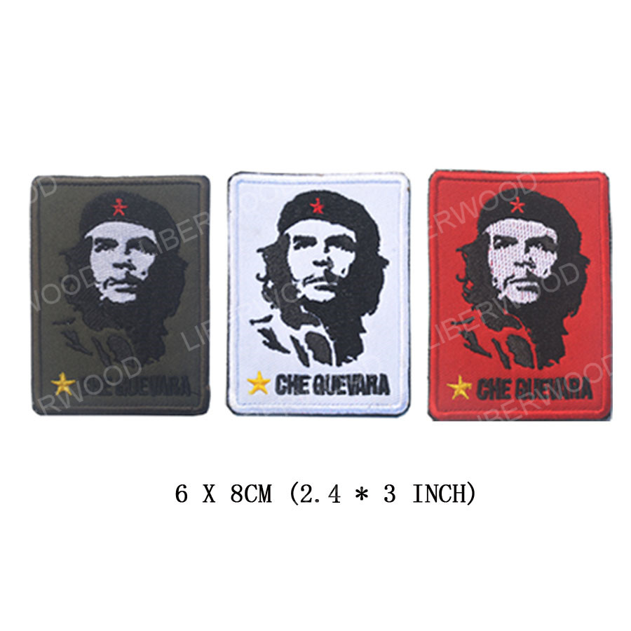 CHE GUEVARA Military Patch Iron on Sew Embroidered T shirt Vest Jacket Cap Cloth