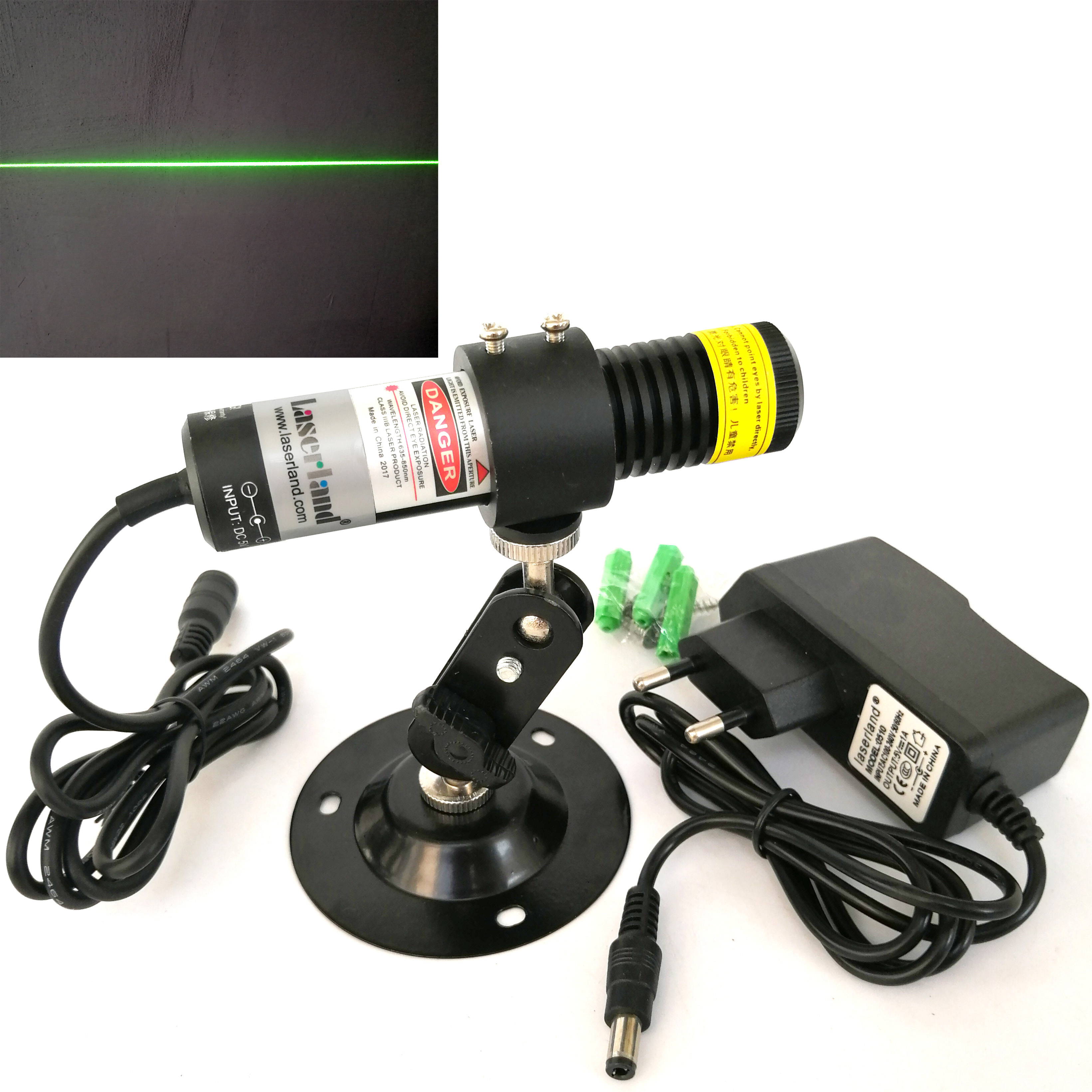 22100 Waterproof IP65 Anti-dust Green Laser Line Generator Projector Module Stone Woodwork Lumber Sawmill Cutting Alignment