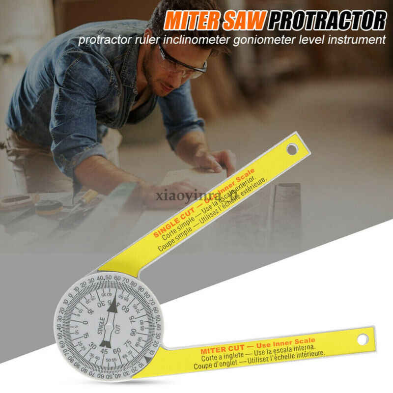 2020 New Starrett 505p 7 Miter Saw Protractor Laser Engraved Dial Measuring Layout Tool Ruler Aliexpress