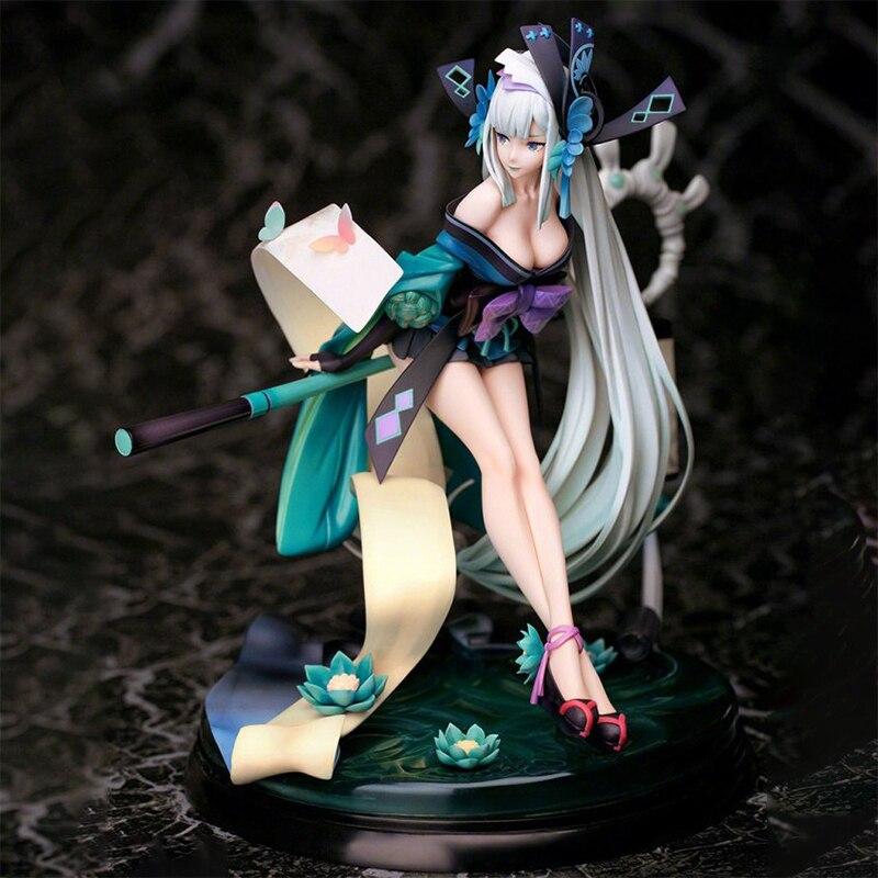 Anime Onmyoji Aoandon Zen Kokakuchou PVC Action Figure Anime Figure Model Toys 22cm Games Statue Figure Collection Doll Gift