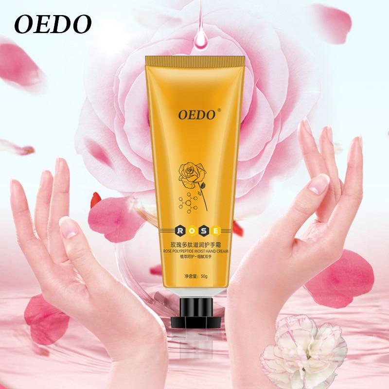 Super Rose Polypeptide Moist Hand Cream Rose Extract Repair Nourishing Hand Care Anti Chapping Anti Aging Moisturizing Skin Care