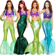 Christmas Costume Mermaid Role Playing Halloween Nightclub Stage Princess