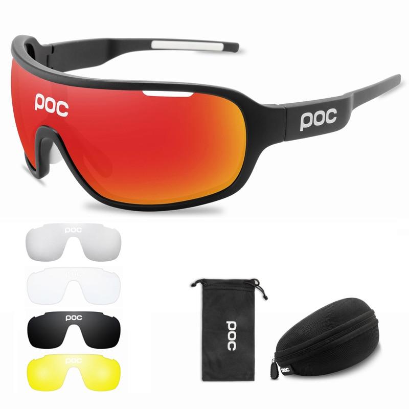 POC bike polarized Sports Sunglasses cycling glasses riding goggles FreeShipping