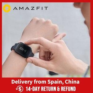 Image 1 - Amazfit BIP Lite Smartwatch 45 อายุการใช้งานแบตเตอรี่ 3ATM กันน้ำกิจกรรมสมาร์ทโฟนปพลิเคชันการแจ้งเตือนสำหรับ Android IOS