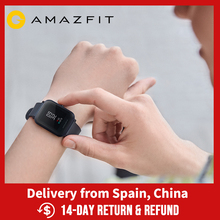 Amazfit Bip Lite 45 Giorno Durata Della Batteria 3ATM Acqua resistenza Smartwatch Attività Applicazioni Smartphone Le Notifiche per Android iOS