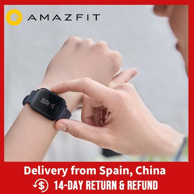 Amazfit ביפ לייט Smartwatch 45 יום סוללה חיים 3ATM מים התנגדות פעילות יישומי טלפון חכם הודעות עבור אנדרואיד iOS