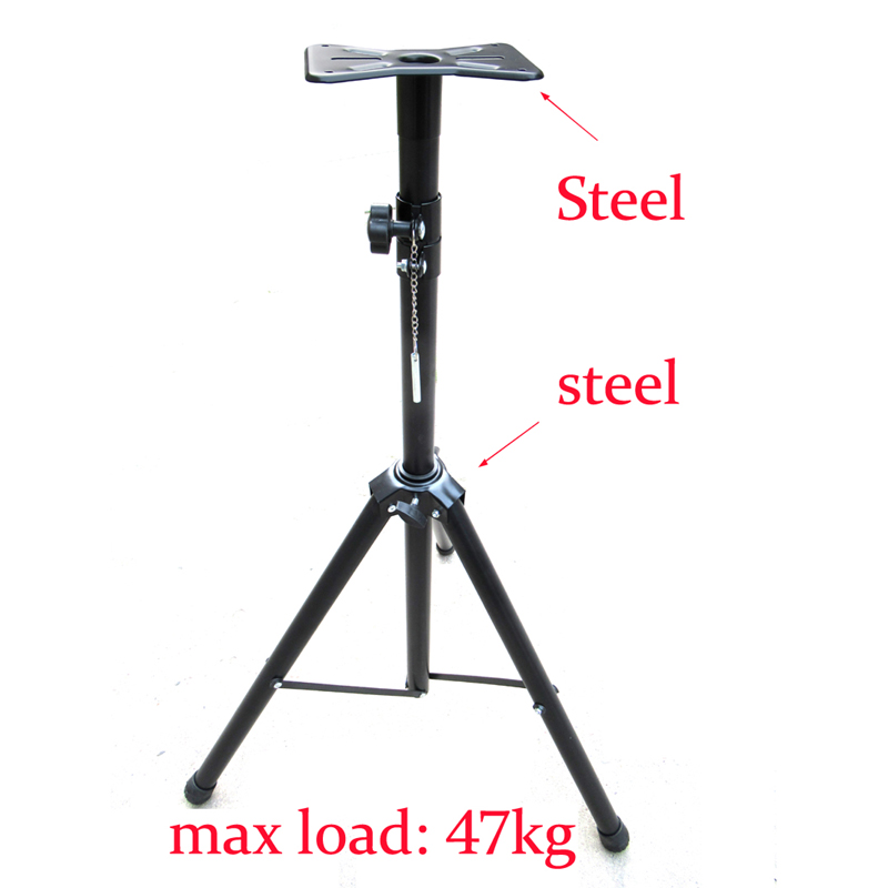 DL-SF05 115CM 150CM 180CM All Steel Adjustable Universal Surround Sound SPEAKER Tripod Floor BRACKET Mount Holder Stand Rack