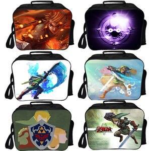 Lunch-Bags Ice-Pack Girls Portable Women Children New The of Fresh Link Zelda Legend