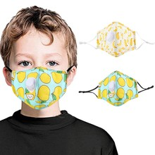 Mask Face Halloween Cosplay Mascherine Adjustable with 2pc FILTERS Ear-Straps for Kids