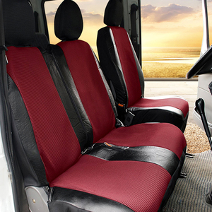 Image 3 - 1+2 Seat Covers Car Seat Cover for Transporter/Van, Universal Fit with Artificial Leather,Truck Interior Accessories