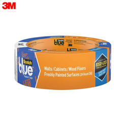Cinta adhesiva 3M 2080-36, material de oficina escolar, cintas adhesivas, sujetadores, cinta para pintura ScotchBlue para superficies delicadas, azul