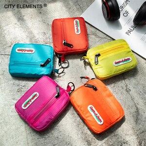 Brand design cute card bag girls' solid coin purse stylish multi-function change purse waterproof buckle pocket women key wallet