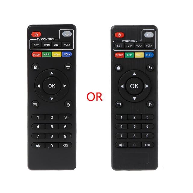 Mando de Control remoto IR de reemplazo para Android TV Box, H96 pro +/M8N/M8C/M8S/V88/X96/MXQ/T95N/T95X/T95
