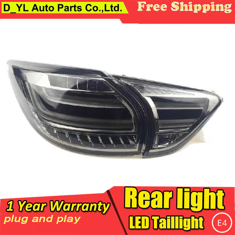 Car Styling for Tail Lights 2013-2015 Mazda CX-5 LED Rear Light Fog light Rear Lamp DRL Brake+Park+Signal