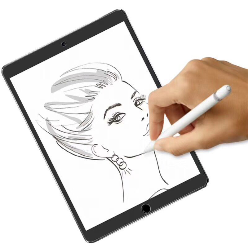 For IPad 10.2 Inch Paper Like Screen Protector Film Matte PET Anti Glare Painting For IPad Pro 9.7 10.5 11 12.9 AIR 2 3 Mini 5 4