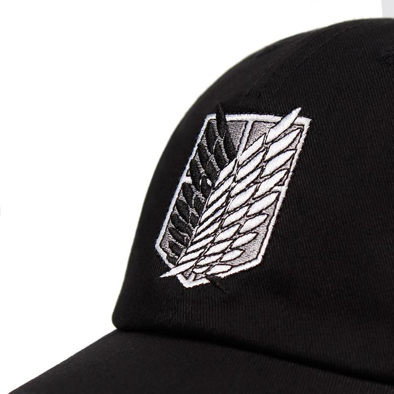 Attack on Titan Hat Cap - Logo Baseball Cap