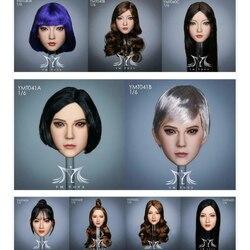 YMTOYS 1/6 kobieta głowa Sculpt Fit 12