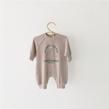 MILANCEL осенний Детский комбинезон с животным узором; одежда для малышей; спортивный стиль; Комбинезоны для маленьких мальчиков