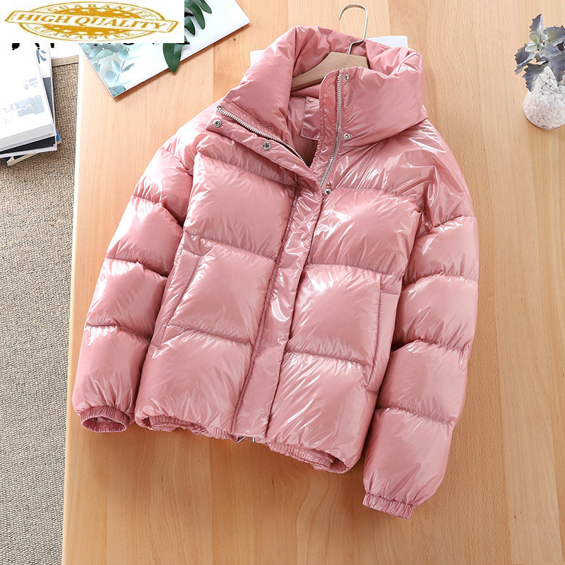 90% White Duck Down Jacket Women Down Coat Winter Coat Women Korean Short Puffer Jacket Warm Parka Casaco 65527 YY1439
