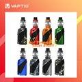 Vaptio Ironclad Kit vape электронная сигарета Vape 80 Вт 6 мл стартовый набор для наполнения 2600 мАч встроенный аккумулятор