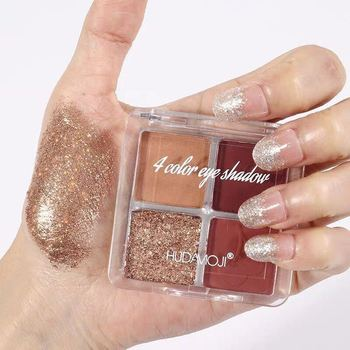 New  Eye Shadow Palette Glitter Matte Pigment Eyeshadow Diamond Makeup Palette Luxury Quality Eyeshadow недорого