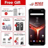 2019New Asus ROG Telefon II ZS660KL Handy 12GB 512GB Snapdragon855 + 6,59 1080x2340P 6000mAh 48MP NFC Android9.0 ROG Telefon 2