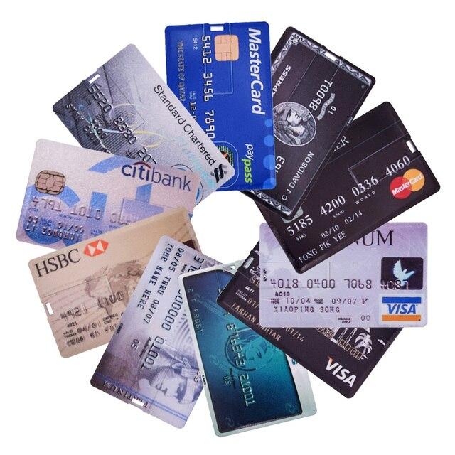 התקן זיכרון בצורת אשראי - נוח לנשיאה בארנק ובכיס 1