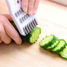 Слайсер для огурцов салата кухонный измельчитель зернистая терка