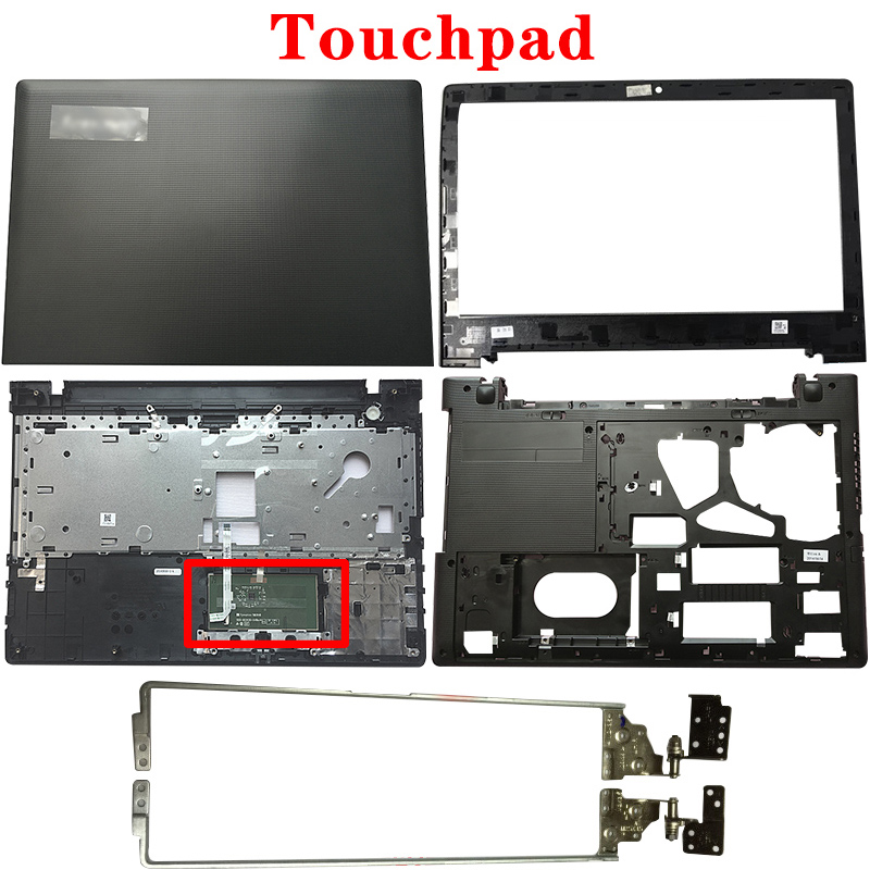 NEW For Lenovo Ideapad G50-30 G50-45 G50-70 G50-80 Z50-30 Z50-70 Z50-80 LCD Back Cover/Front Bezel/Hinges/Palmrest/Bottom Case