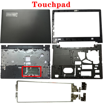 NEW For Lenovo Ideapad G50-30 G50-45 G50-70 G50-80 Z50-30 Z50-70 Z50-80 LCD Back Cover/Front Bezel/Hinges/Palmrest/Bottom Case image