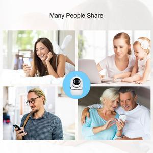 Image 4 - JOOAN ענן אלחוטי Carmera IP HD 1080P ראיית לילה 3D ניווט חכם מצלמה עבור אבטחת בית מעקבים