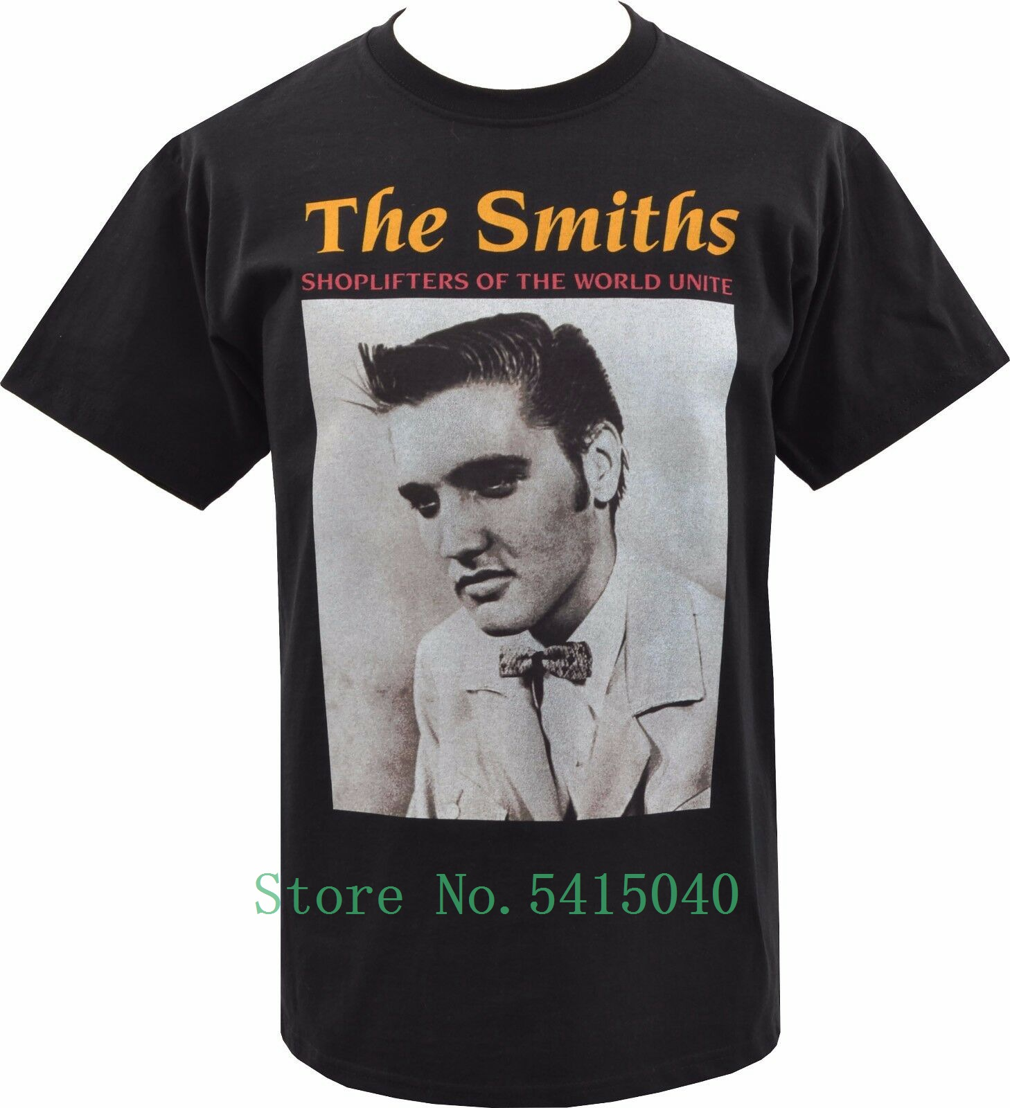 MENS WHITE T-SHIRT THE SMITHS QUEEN IS DEAD BRITISH MORRISSEY NORTHERN S-5XL
