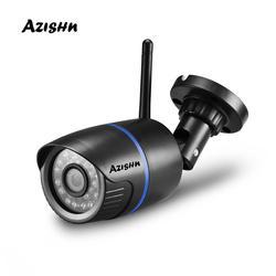 AZISHN Yoosee Wifi kamera IP 720P 960P 1080P bezprzewodowa przewodowa ONVIF P2P cctv bullet kamera zewnętrzna z gniazdo kart sd Max 128G w Kamery nadzoru od Bezpieczeństwo i ochrona na