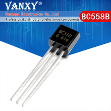100 PIÈCES BC558B TO 92 BC558 TO92 558B nouveau triode transistor
