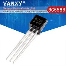 100PCS BC558B TO 92 BC558 TO92 558B new triode transistor
