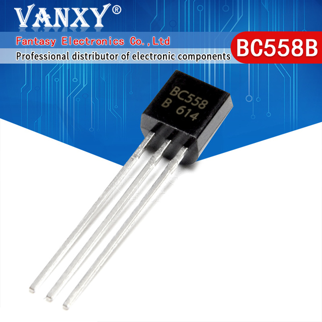 100PCS BC558B TO 92 BC558 TO92 558B new triode transistor