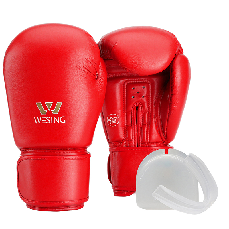special sales famous brand really cheap US $71.99 |Wesing AIBA Boxing Gloves for Professional Athletes with Mouth  Guard Protection Unisex Boxing Gloves for Training Competition on AliExpress