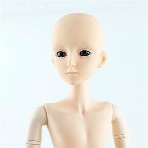 Image 2 - Bonecas bjd de 60cm para homens 21 articulações móveis, brinquedo em 3d, olhos, maquiagem diy, masculino nuo e menino bjd brinquedo para meninas presente
