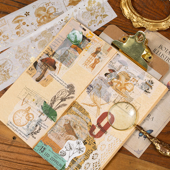 Divination Foiled Galaxy Washi Tapes Gold Adhesive Masking Tapes DIY Decoration Sticker Instrument of Life mac foiled