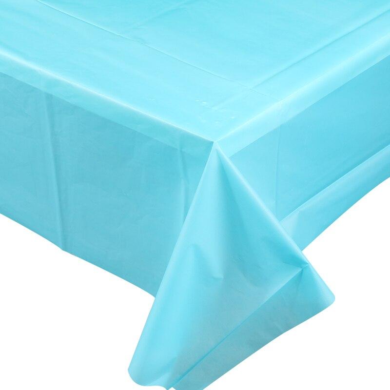 """Темно-синий прямоугольник 54x72/"""" клетчатый одноразовый пластиковый столик чехол скатерть"""