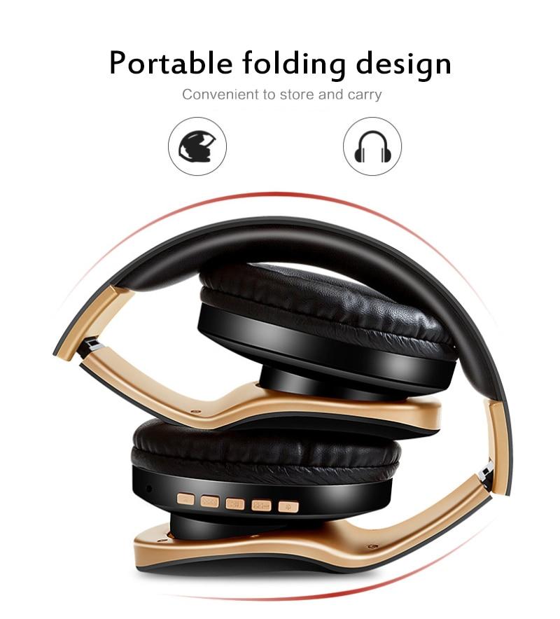 Fones de ouvido de bluetooth montado na