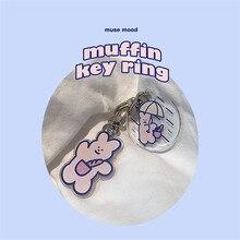 Backpack Key-Chain Korean Cartoon Cute Kawaii Decorative-Pendant-Accessories Airpods