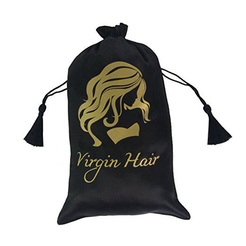 personalizado privado borlas saco pacote peruca festa