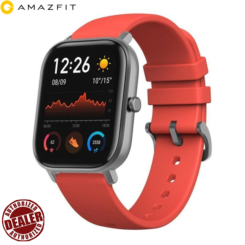2020 Huami Amazfit Gts Wristwatches Hombres/mujeres/par De Deportes Smartwatch Z Gps/ip68 Nieprzepuszczalna Para Anfroid/ios