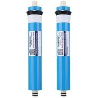 2Pcs ULP1812 50 Residential Water Filter 50 Gpd RO Membrane NSF Used for Reverse Osmosis System w Części do filtra wody od AGD na