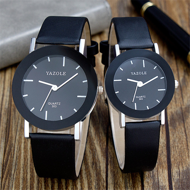 Hongc 175 Watch Wholesale Fashion Leather Strap Watch STUDENT'S Watch Trend New Style Quartz Couple Watches Mixed Batch